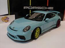"""Minichamps - Porsche 911 (991) GT3 Exclusiv Bj. 2017 """" Gulfblau """" 1:18 Lim. 300"""