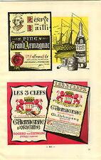 ADVERTISEMENT Vineyard Wine Armagnac Clos de Roland Les 3 Clefs d'Origine ++