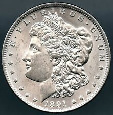 1891 CC Morgan Dollar Choice Uncirculated