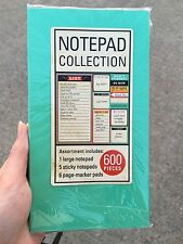 Sticky Notepad / To Do List / I Need To Do / Page Maker 600 Pieces Mint Set