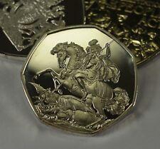 ST GEORGE & THE DRAGON Silver Commemorative Albums/Filler/Token Collectors RARE