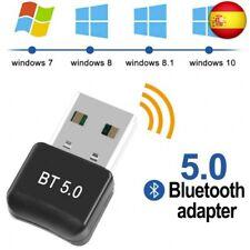 FAGORY Adaptador de Bluetooth 5.0 Bluetooth USB PC Bluetooth Transmisor y