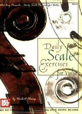 NEW - Mel Bay Daily Scale Exercises for Violin by Chang, Herbert