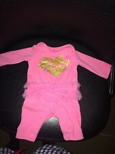 Newborn Pink One piece