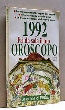 1992 FAI DA SOLA IL TUO OROSCOPO [libro, le guide di Pratica]
