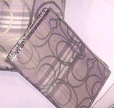 coach wallet tartan plaid