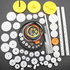 82PCS/Set Plastic Gear DIY Accessories Set for Toy Motor Car Robot Model  Kit