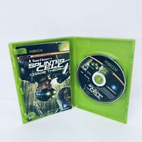 Tom Clancy's Splinter Cell: Chaos Theory (Microsoft Xbox, 2005) Complete TESTED