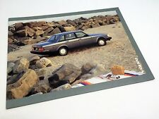 1988 Volvo 240 DL Sedan Wagon Brochure