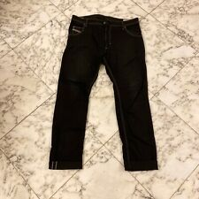Diesel Krooley Dark Wash Black Jeans Sz 38 Denim