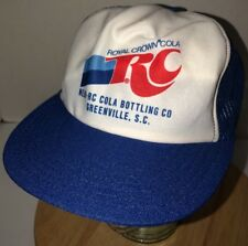 Vintage NIHI-RC Cola Bottling Greenville SC 70s 80s USA Trucker Hat Cap Snapback