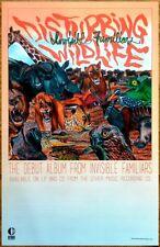 INVISIBLE FAMILIARS Disturbing Wildlife 2015 Ltd Ed RARE Poster+FREE Rock Poster