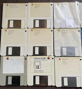 "Vintage Apple Macintosh 3.5"" Floppy  Disks lot"