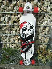 Longboard 41 LED Rot DROP RACE ABEC 11 Skateboard