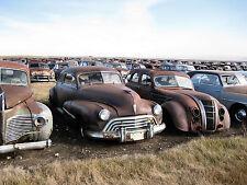 1940s & 50 Cars junk yard to the horizon 8 x 10 Photograph