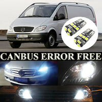 White LED Error Free Canbus Side Light Beam Parking Bulbs For All Type Vito W639
