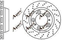 REAR BRAKE DISCS (PAIR) FOR PORSCHE CAYMAN GENUINE APEC DSK2503