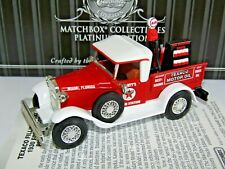 MATCHBOX COLLECTIBLES PLATINUM 1930 FORD MODEL A PICKUP TRUCK TEXACO 1/43 92125