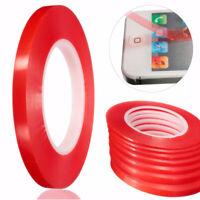 50M adhésif Ruban fort Double face bande Rouleau pour téléphone écran LCD 2-10mm