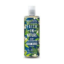 💚 Faith in Nature Natural Hemp & Meadowfoam Body Wash 400ml