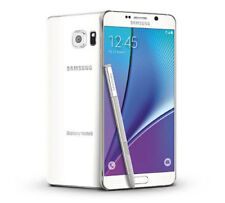 """New"" Samsung Galaxy Note 5 N920A Unlocked 32Gb White Gsm Smartphone Lcd Ghost"