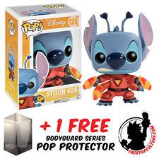 FUNKO POP DISNEY LILO & STITCH STITCH 626 VINYL FIGURE + FREE POP PROTECTOR