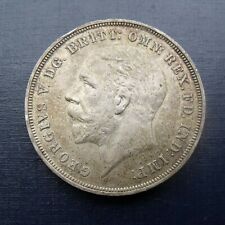 More details for 1935 geo v jubilee crown coin rocking horse crown .500 silver nicely toned