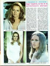 ANGEL TOMPKINS => 1 PAGE 1974 VINTAGE SPANISH CLIPPING (FREE Shipping