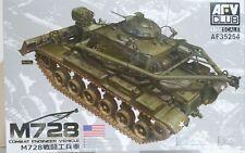 AFV Club 1/35 scale AF35254, M728 Combat Engineer Vehicle.