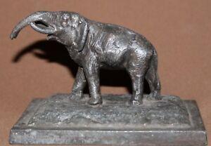 Vintage Austrian metal elephant figurine