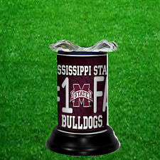 MISSISSIPPI STATE BULLDOGS ELECTRIC TART WARMER/FRAGRANCE LAMP-FREE SHIPPING US