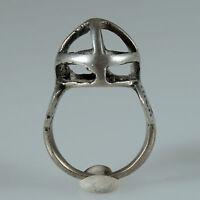 8995 Alte Tuareg Ring Silber Agadez Mali