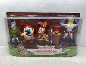 Ren and Stimpy Collector Figure Set of 5 Nickelodeon 2017 By Just Play Sealed