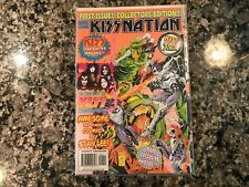 Kiss Nation Marvel Comics First Issue Kiss Meets The X-Men