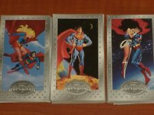 SUPERMAN: THE MAN OF STEEL 'Collectors Edition' Trading Card Set & Chase Cards!