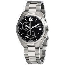 Hamilton Khaki Pilot Pioneer Chronograph Black Dial Mens Watch H76512133