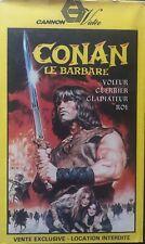 VHS - CONAN LE BARBARE - ARNOLD SCHWARZENEGGER - VF SECAM