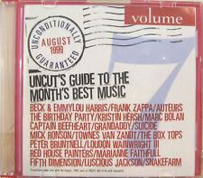 """UNCONDITIONALLY GUARANTEED VOL.7"" cd promo FRANK ZAPPA CAPTAIN BEEFHEART mint"