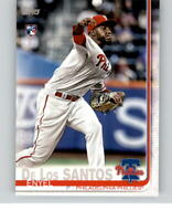 2019 TOPPS MINI On Demand ENYEL DE LOS SANTOS Base Card Phillies Rookie #291