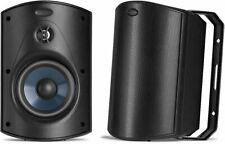 NEW Polk Audio Atrium 5 Black Outdoor Speakers (pair) - Atrium5