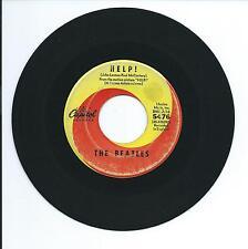 "1965 THE BEATLES ""HELP"" 45rpm 7"""