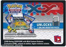 50 códigos de Pokemon XY Base Set Trading Card Game booster pack-enviar por correo electrónico en línea/en juego rápido!