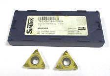 2 Stechplatten inserts TE3 GMP4.A GN39 von Simtek Neu H17713