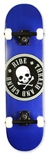 "Element Complete Skateboard: 31"" Canadian Maple Ply [ Dark Blue Skull ]"