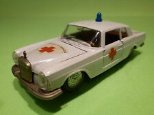 AUTO PILEN  1:43  MERCEDES 250 COUPE - DE URGENCIA     - IN GOOD  CONDITION