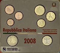 2008 coffret BU 8 pièces EURO ITALIE ITALIA ITALIEN