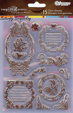 French Impressions SANDY LION Clear Unmounted Stamps, Rouge De Garance - RSTP6