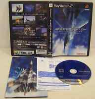 Ace Combat 04: Shattered Skies (PlayStation 2) Great and Complete!!! JPN Import!