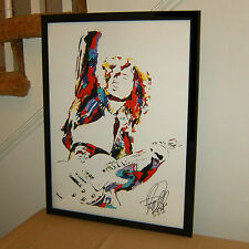 Jimmy Page Led Zeppelin Dazed and Confused Rock Poster Print Wall Art 18x24
