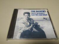 JJ8-PAUL MCCARTNEY LIVE AT THE CAVERN LONDON/LIVERPOOL 1988 CD RE/PRECINTAD RARO